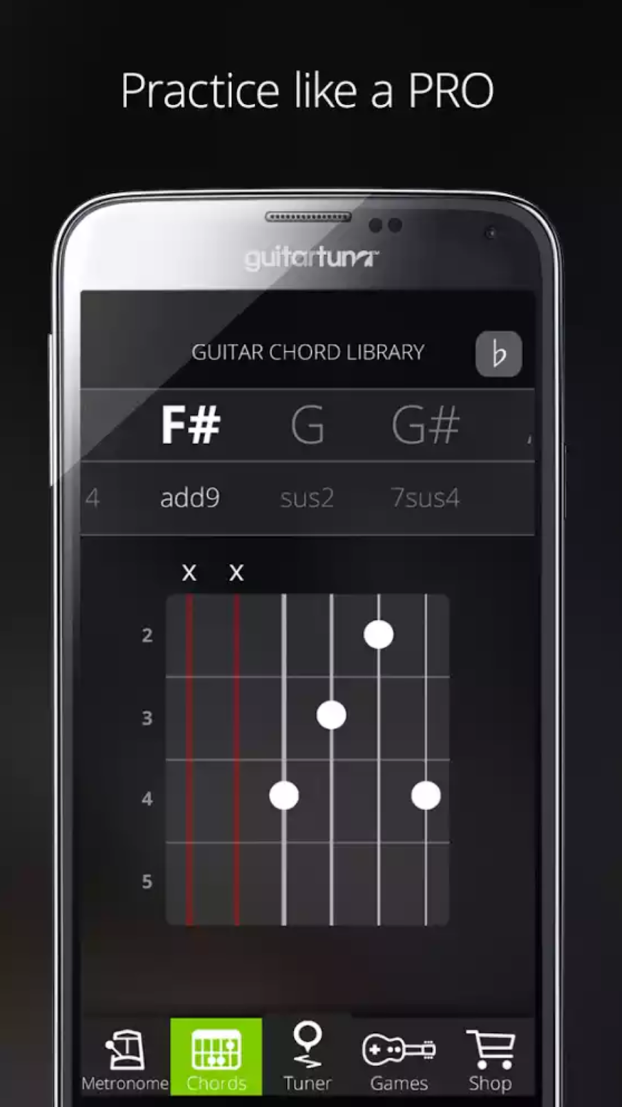Guitar Tuner Free Guitartuna V407 Latest Android Best Essential