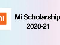 Mi Scholarship 2020-21 for Class 11, 12 and Undergraduate Students