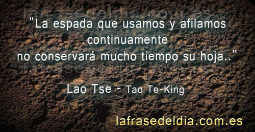 Sabiduría en frases de Lao Tse