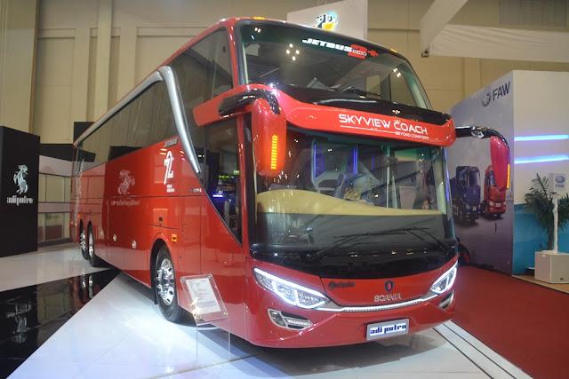 Scania Mercedes Jetbus Double Deck