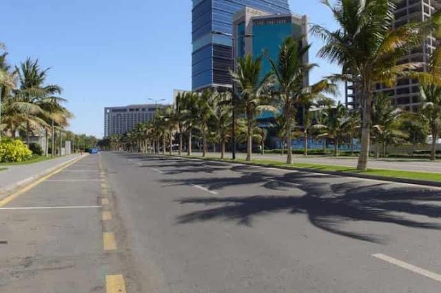 10,000 Riyals Fine, Jail term for violating Curfew in Saudi Arabia