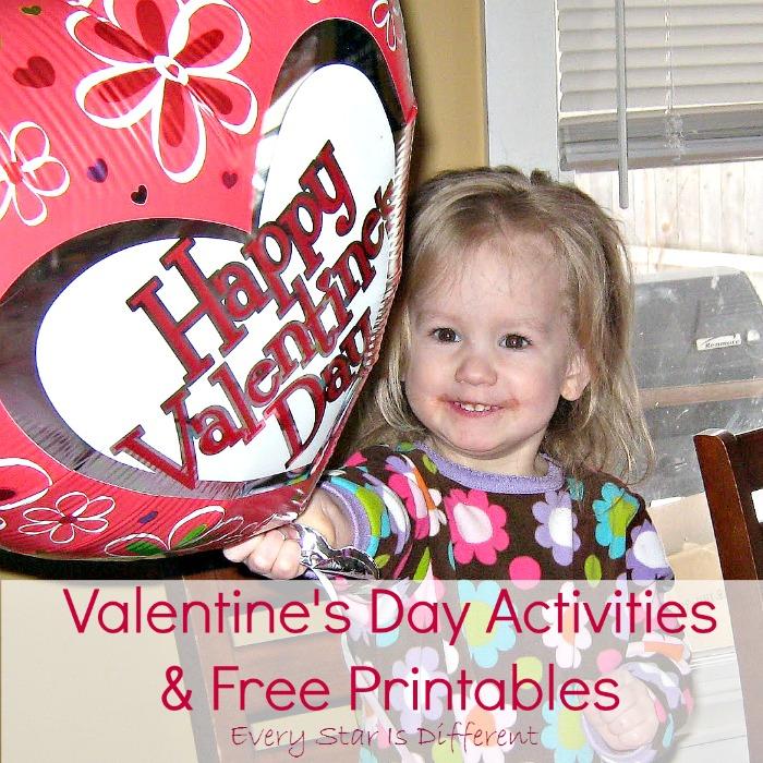 Valentine's Day Activities & Free Printables