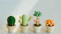 cactus de plastilina