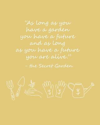 secret garden quote as long as you have a garden