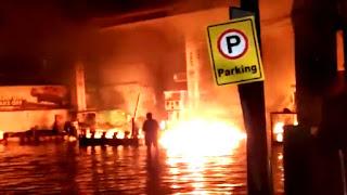 Fire in Patna Indian Oil Petrol Pump