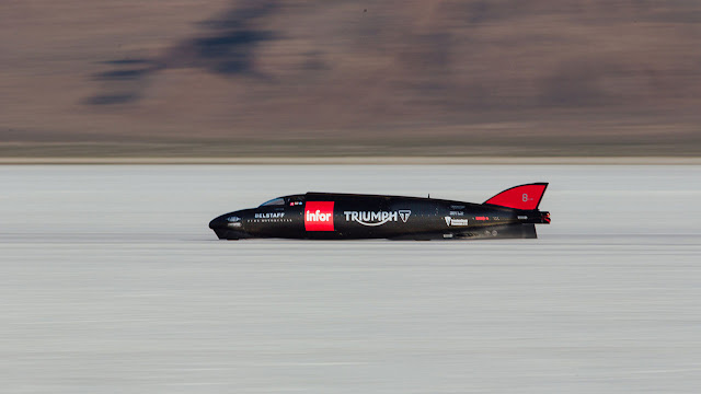 The Triumph Infor Rocket Streamliner