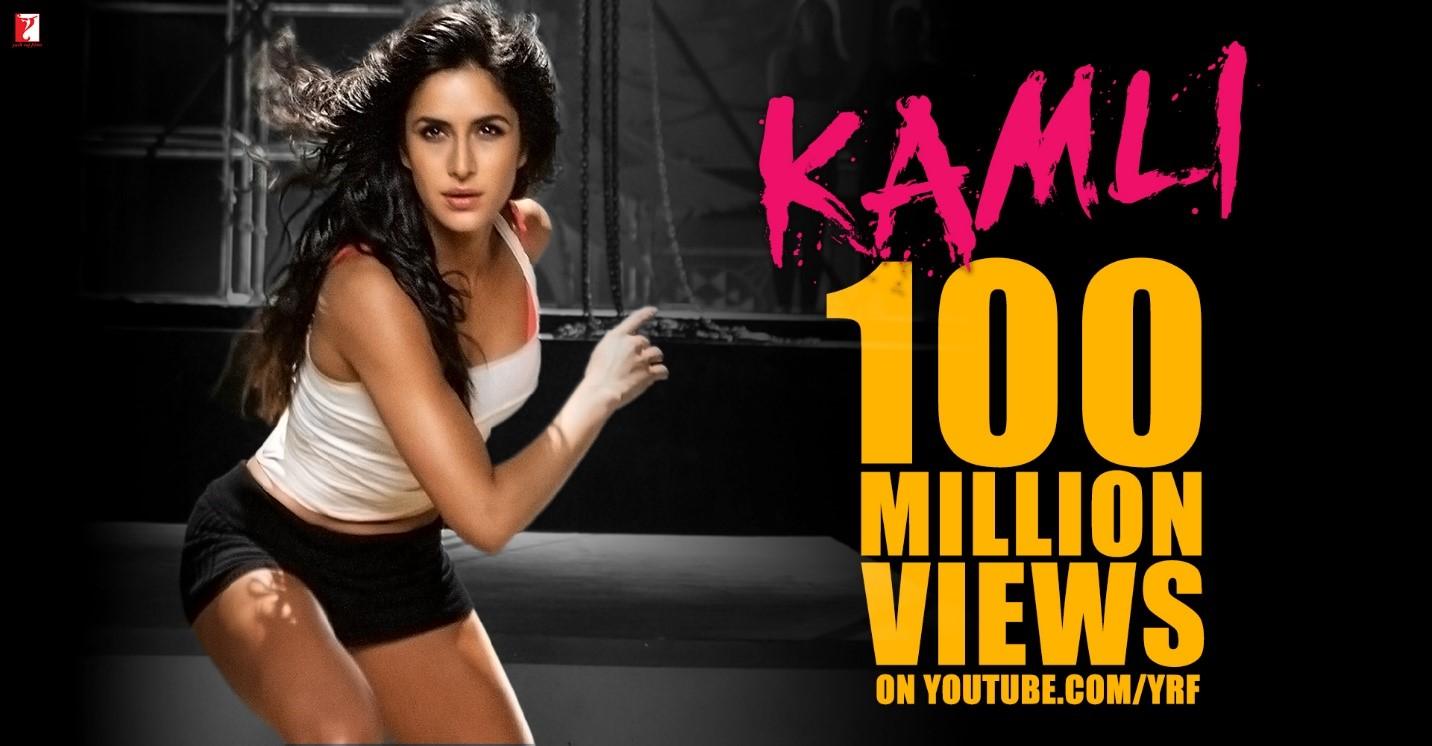 .: YRF's 'Kamli' Music Video Surpasses 100 Million Views