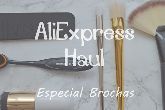 Aliexpress Haul - Especial Brochas