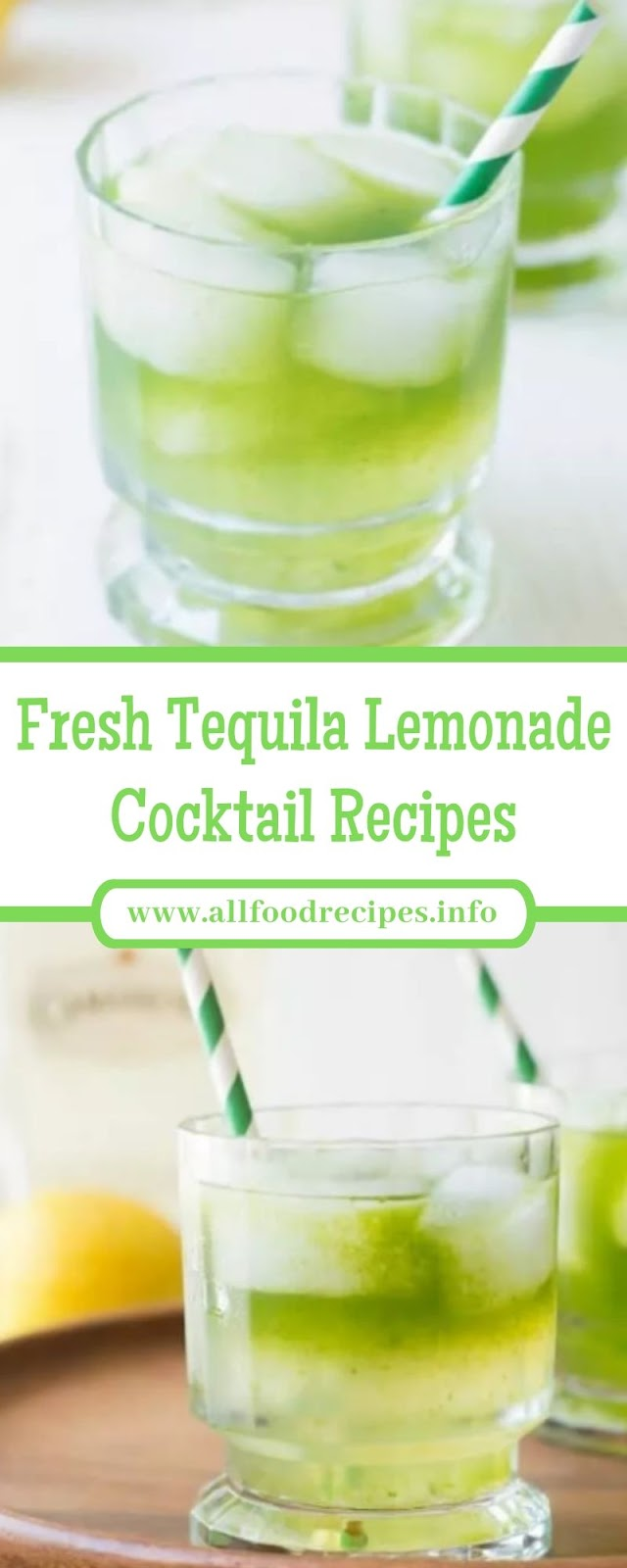 Fresh Tequila Lemonade Cocktail Recipes