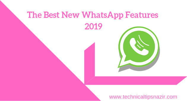 whatsapp new features 2019