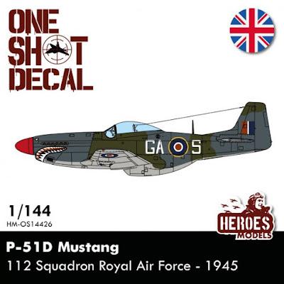 P-51D | 112 Squadron RAF