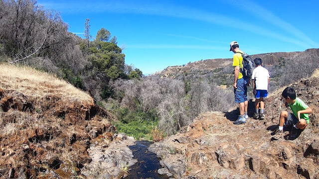 Top of Lower Ravine Falls - North Table Mountain