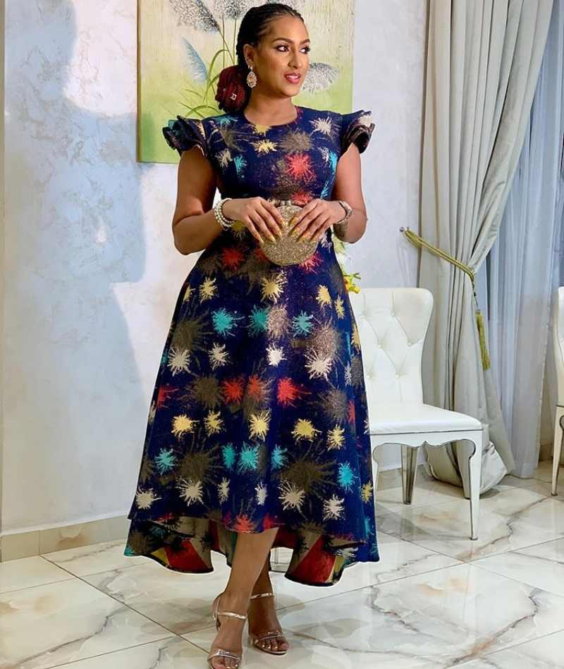 30+ Latest Ankara Long Gown Styles for Classy Ladies