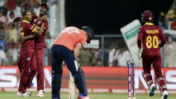 Carlos Brathwaite blasts West Indies to World T20 final