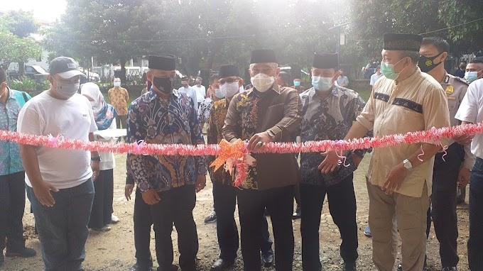 Walikota Resmikan Balai Warga RW 04 Depok Jaya