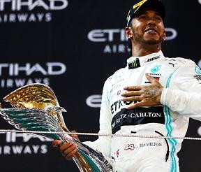Lewis Hamilton wins Abu Dhabi GP 2019, season's 11th, 83 career victory.
