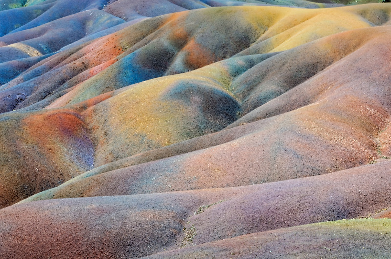 Free 3d Scenic Wallpaper The Seven Colors Earth Mauritius Beautiful And Unusual