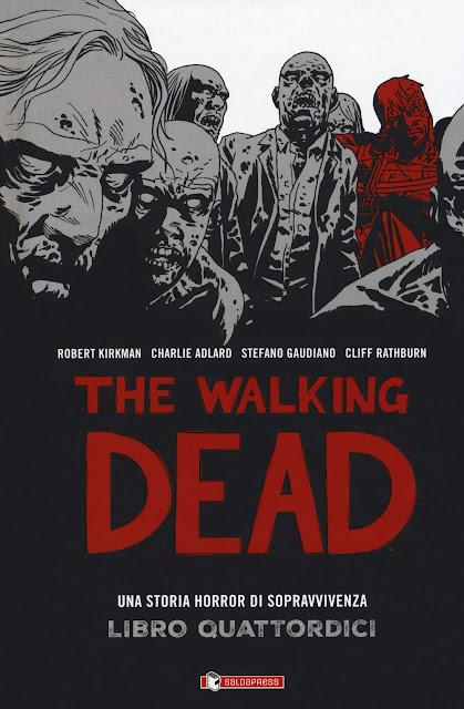 THE WALKING DEAD – LIBRO QUATTORDICI Hard Cover
