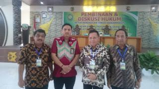 IKAHI Wilayah Hukum Banjarmasin Lakukan Pembinaan dan Diskusi di Kotabaru