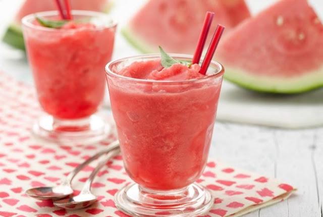 Watermelon Pops & Watermelon Slushies #drinks #summer