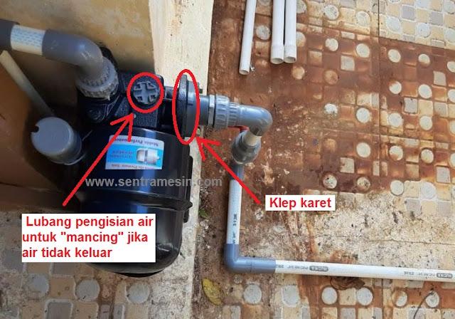 penyebab pompa air tidak menghisap