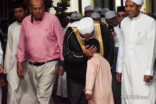 Takjub; Ternyata Salah Satu Guru Besar Syekh di Dalwa Berkunjung