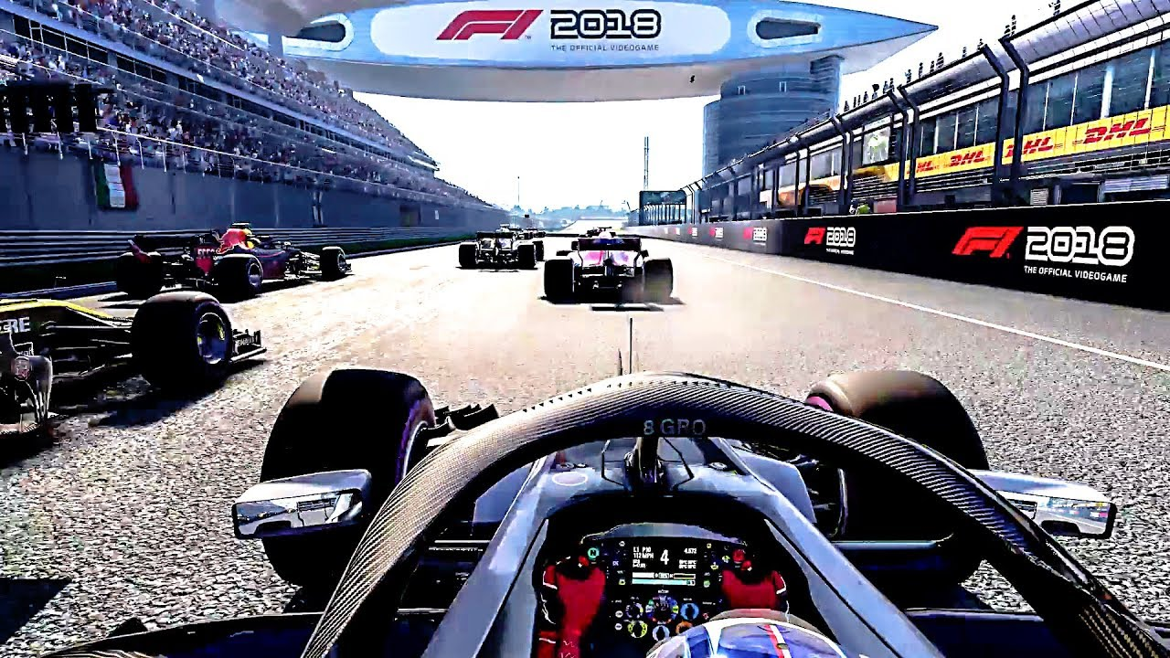 review f1 2018 sony playstation 4 digitally downloaded. Black Bedroom Furniture Sets. Home Design Ideas