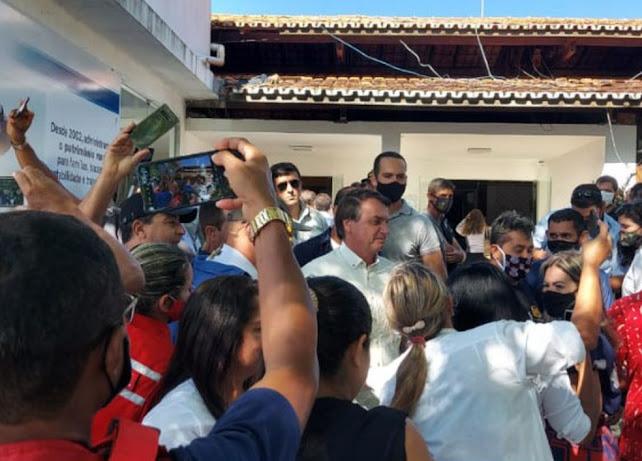 Bolsonaro viaja a Coribe para entregar parte da obra de adequação da BR-135 na Bahia