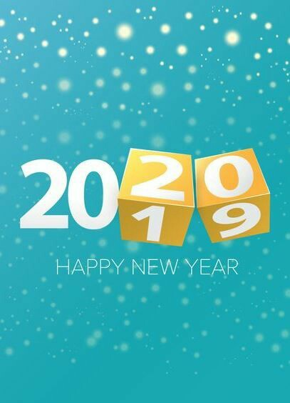 Happy New Year 2020 Card, Best New Year Greeting Cards