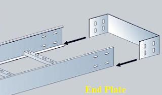 اكسسوارات حوامل الكابلات cable trays accessories