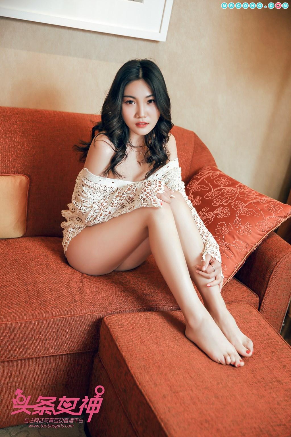Image TouTiao-2018-04-14-Wan-Jun-MrCong.com-005 in post TouTiao 2018-04-14: Người mẫu Wan Jun (婉君) (26 ảnh)
