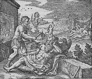 mito atenea nacimiento