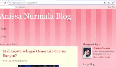 Anis Nurmala's Blog