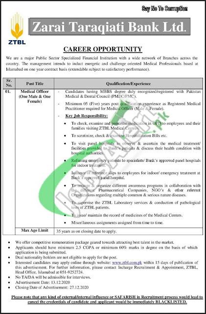 ztbl-jobs-2020-for-medical-officer-www.ztbl-com-pk