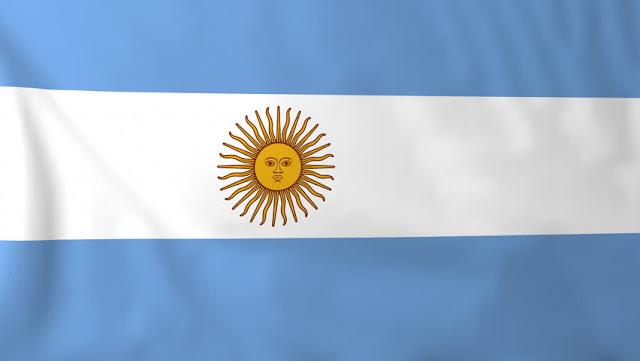 Bandera Argentinas para el 20 de junio