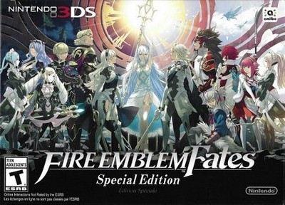 Rom Fire Emblem Fates Special Edition, Swisuit patch  3DS