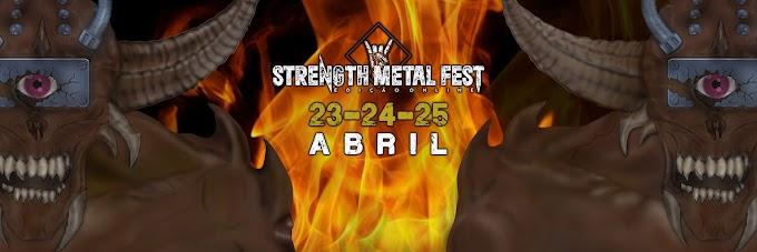 Divulgação de Evento: Strength Metal Fest - 1ª edição