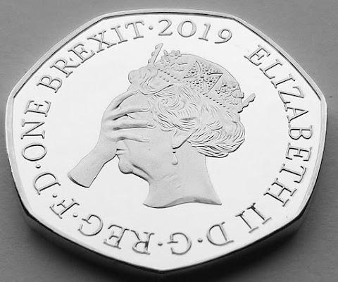 One Brexit 2019 Elizabeth II D.G.Reg.F.D.