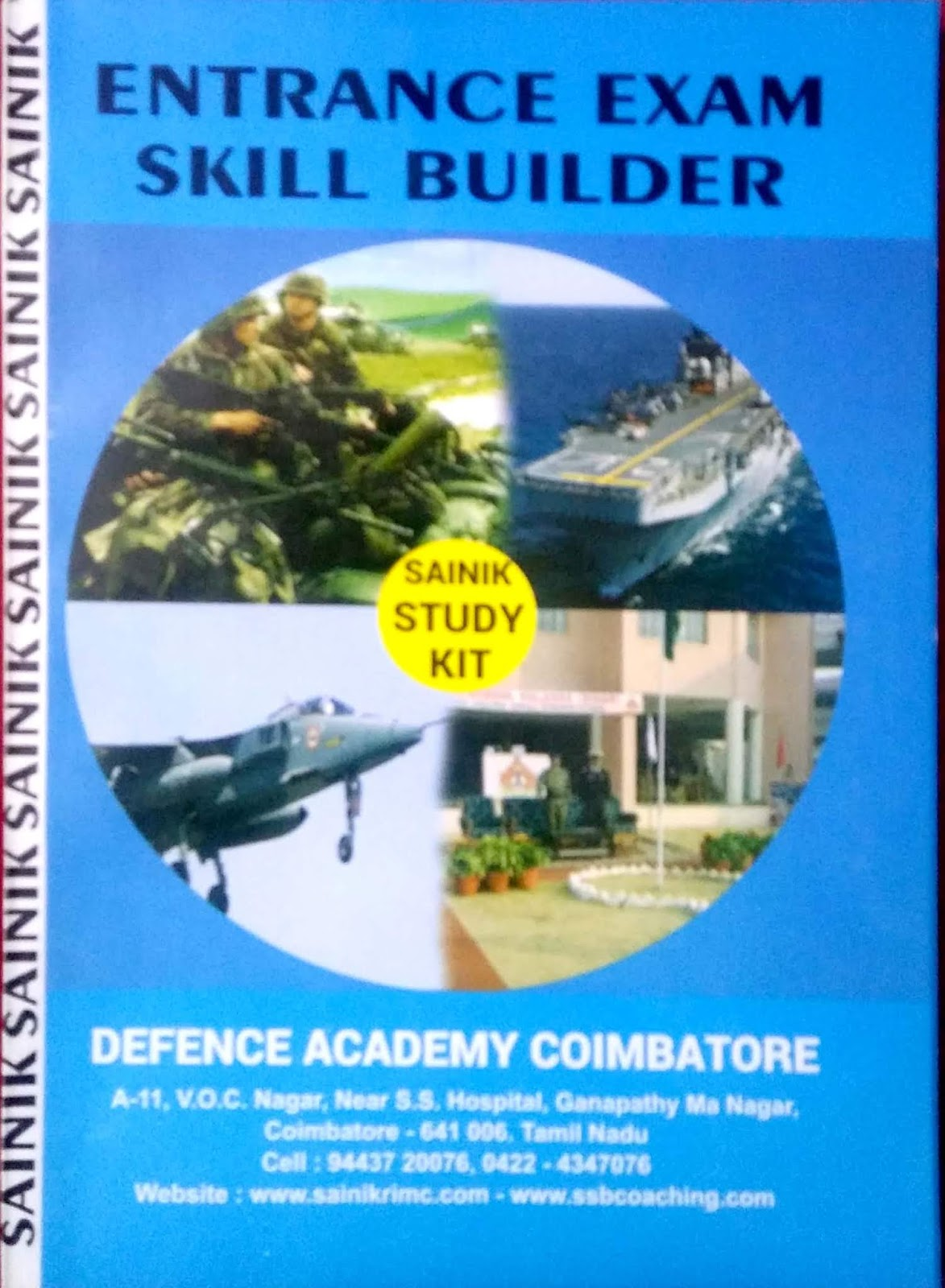Sainik School Entrance Exam Guide Book