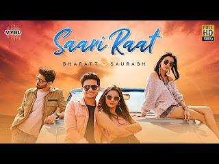 Saari Raat Lyrics Bharatt Saurabh