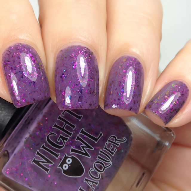 Night Owl Lacquer-Dance It Out