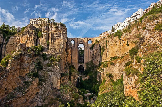 Ronda en Malaga. 17 lugares para descubrir España