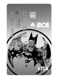 Gambar Kartu Kredit BCA Batman