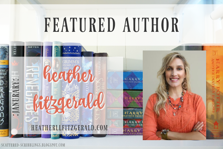 Featured Author - January // HEATHER FITZGERALD (+giveaway!) - [post title image]