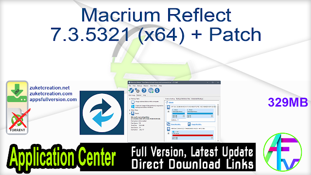 Macrium Reflect 7.3.5321 (x64) + Patch