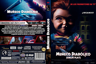 EL MUÑECO DIABOLICO – CHILD'S PLAY – 2019 [COVER DVD + BLU-RAY]