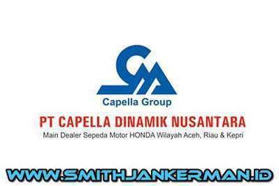 Lowongan PT. Capella Dinamik Nusantara Pekanbaru Mei 2018