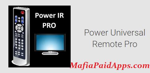Power IR - Universal Remote Control Pro v2 37 Apk