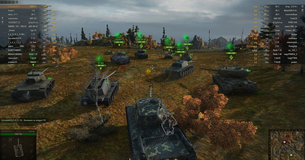 world of tanks marker mod