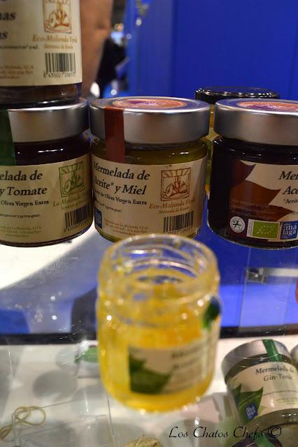mermelada de aceite y miel, la molienda verde.